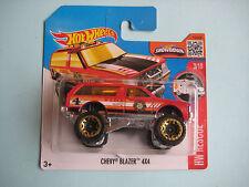 Diecast Hotwheels HW Rescue Chevy Blazer 4*4 Red on Blister