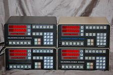 Quadra-Chek QC-II, QC-III, QC-2000, QC-2200, QC-2205 DRO Diagnostic Service.