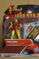 Ironman 2 Blast Off Figura con supporto sigillato con carta di intrattenimento 3 completa