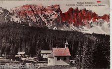 #sudtirol- KARERSEE KAPELLE- gegen latemar