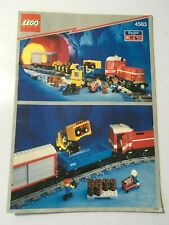 LEGO 4563 Load and Haul Railroad - Instructions Only