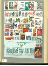 SOVIET UNION MNH  STAMPS AND MINIATURE SHEET .