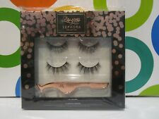 ec2cfa434be SEPHORA COLLECTION ~ LILLY 2 PAIRS OF FAKE EYELASHES / ROSE GOLD LASH  APPLICATOR