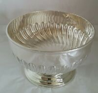 George V sterling silver Rose bowl. London 1913.By Harrison Brothers & G Howson