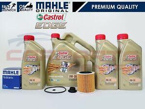 FOR BMW 3 SERIES F30 F80 M3 3.0 GENUINE MAHLE OIL FILTER 7L CASTROL OIL SERVICE