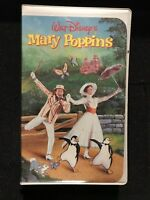 Walt Disney MARY POPPINS Masterpiece Collection VHS VIDEO 1998