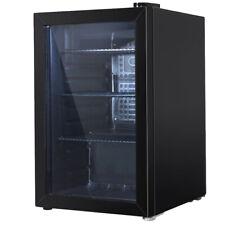NEW Black Devanti 70L Glass Door Mini Fridge - DwellHome,Home Appliances