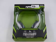 KMD KMD-360-0868 WHITE PRO GAMER FOR XBOX 360 WIRED HEADSET WITH MICROPHONE