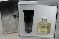 REPORTER for Men 75 ml Eau de Toilette EdT Spray + 100 ml Bath & Shower Gel SET