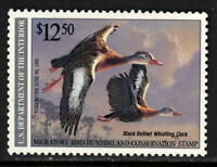 SCOTT RW57 1990 $12.50 BLACK BELLIED DUCK STAMP ISSUE MNH OG XF CAT $40!