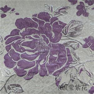 European Silver Nylon Pillow Cushion Upholstery Material Jacquard Sofa Fabric