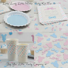 Baby Shower Party Tableware Kit/Set For 16 Decorations Birthday Decorations