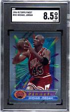 Michael Jordan Bulls HOF 1994-1995 94-95 Topps Finest w/Peel #331 SGC 8.5 NM/MT+