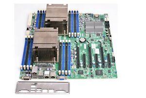 Supermicro X9DRi-F LGA Sockel 2011, Intel Server Mainboard + 2x XEON E-ATX  #IP4