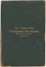 Ike MATTHEWS Full Revelations PROFESSIONAL RAT-CATCHER 15 Years' Experience 1898