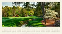 2019 Masters Calendar/Poster 12th Hole Augusta National Tiger Woods 15th Major