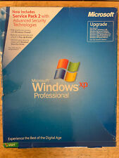 MICROSOFT WINDOWS XP PROFESSIONAL UPGRADE SP2 VERSION 2002 with PRODUCT KEY