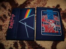 1 New Vintage 1987 Pink Floyd Nylon Wallet A Momentary Lapse Of Reason & Dsotm