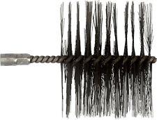 Heizkesselbürste  ø 120 mm mit IG M10, verwendbar für Stahlkessel