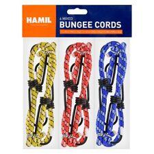 12 X Bungee Cords Wires Cables Straps Bungie Elastic 30cm 45cm 60cm