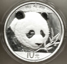 Chine 10 Yens 2018 Ours Panda @ 30 Grammes Argent Pur @