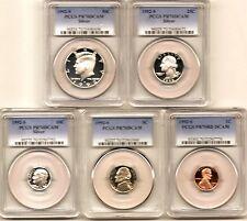 1992 S 70 silver date set half quarter dime nickel penny pcgs