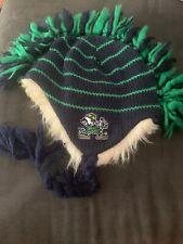 Notre Dame Fighting Irish Mohawk Tassel Knit Adidas Hat OSFA