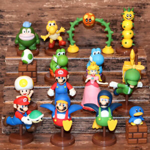CHOCO EGG NEW SUPER MARIO BROS. Wii Figures 16p with Secret Penguin Nintendo