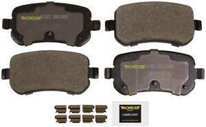 Disc Brake Pad Set-Total Solution Semi-Metallic Brake Pads Rear Monroe DX1021