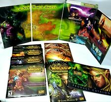 World of Warcraft: The Burning Crusade Expansion Set  (PC, 2007) Complete in box