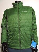 NWT Mens S-M-L-XXL Columbia Crested Butte Puffer Omni-Heat Jacket XM5021-396