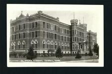 Carroll Iowa IA c1925 - 30s RPPC St Angelica Academy Main Bdg