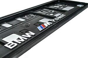 BMW M Power License Number Plate Holder frame, M3, M5, M6, M Performance, X6, X5