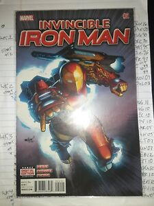 Invincible Iron Man #2A (2015 2nd Series, December 2015, Marvel)