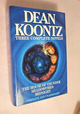 Three Complete Novels - 1996 H/C Book w/Dust Jacket SIGNED by author Dean Koontz