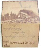 VINTAGE POSTCARD BOOK VIEWS OF OMAHA NEBRASKA railroad railway train