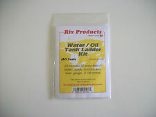 Model Trains HO Water/Oil and Tank Ladder Kit - Rix Products Made in USA.
