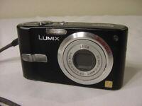 PANASONIC LUMIX DMC-FX12 DIGITAL CAMERA LEICA LENS w/ BATTERY