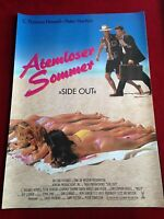 Atemloser Sommer Kinoplakat Poster A1, C.Thomas Howell, Peter Horton, Side Out