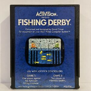 Fishing Derby Video Game Cartridge Only Atari 2600 - Good condition