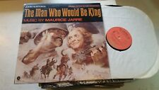 THE MAN WHO WOULD BE KING 1975 Maurice Jarre Soundtrack Capitol LP ost rare viny
