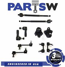 10 Pc Suspension Kit For GEO Prizm 1993-1995 Ball Joints Rack Ends Sway Bars