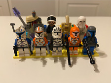 Lego Star Wars Authentic Minifigures Lot of 9 INCLUDING- REX, CODY & WOLFPACK!!!