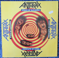 ANTHRAX - State Of Euphoria - Vinyl LP Germany 1988