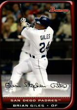2008 Bowman Baseball #64 Brian Giles San Diego Padres