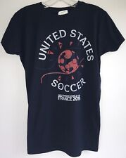 United States FIFA World Cup France 2019 T-Shirt Women's M Navy Blue NEW