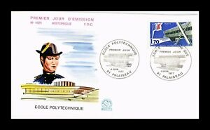 DR JIM STAMPS POLYTECHNIC SCHOOL PALAISEAU FIRST DAY ISSUE FRANCE COVER 1977