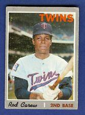 1970 Topps Baseball Rod Carew #290 Minnesota Twins VG