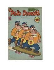 O Pato Donald #1370 1978  Brazilian Bugle Boys Skateboard Cover!