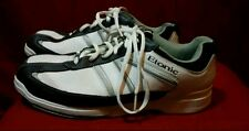 Etonic mens white Bowling Shoes Size 8 in beautiful pre-owned condition